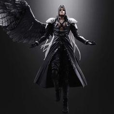Final Fantasy Play Arts Advent Children Sephiroth Action Figure