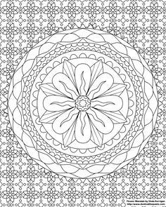 Mandala Kleurplaten Bestellen.54 Beste Afbeeldingen Van Bloemen Mandala Draw China Painting En