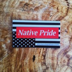 Proudly Display Your Roots. $1 Sticker link in bio.  #native #nativeamerican #xicana #xicano #indigenous #indigenouspride #pride #culture #love #strong #wood #sticker #stickers #stickerart #stickerbomb #stickerline #stickerporn #stickerslap #stickerslaps #color #colorful #unite #peace #equality #south #central #america