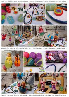 LAND OF COLOURS - BLOG OF URBAN CRAFT, FELT AND HANDMADE FELTING, AND OTHER MATERIALS