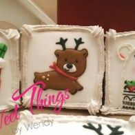 Medium square cookies - sweetthingsbywendy.ca Square Cookies, Edible Favors, Party Favours, Joy To The World, Time Of The Year, Teddy Bear, Medium, Sweet, Happy