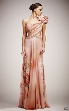 Tony Ward #josephine#vogel  --  Pretty, but I would take off the awkward shoulder poof.