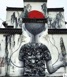 Street art - New wall by Seth  in Shanghai, China
