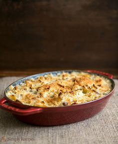 Turkey Noodle Casserole Recipe | Simply Recipes #turkey-leftovers