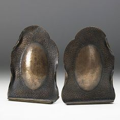 Image detail for -ALBERT BERRY Pair of copper bookends : Lot 51