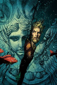Aquaman #25 Variant Cover by Joshua Middleton