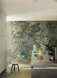 Vertical green - Wall&decò wallpaper collection 2015 design Lorenzo De Grandis
