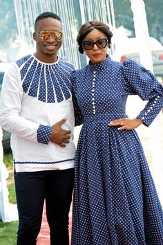 A Modern Traditional Wedding # South african wedding magazine inspiring brides to be with the latest wedding inspiration, tips and advice. African Shirts, African Print Dresses, African Fashion Dresses, African Dress, African Wedding Attire, African Attire, African Wear, African Style, African Fashion Designers