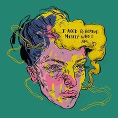 Digital Art by Mags Munroe Art And Illustration, Illustrations, Psy Art, Arte Sketchbook, Art Hoe, Psychedelic Art, Aesthetic Art, Art Inspo, Art Reference