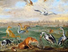 Paris (section of Europe painting) by Ferdinand van Kessel, 1689 (PD-art/old), Kunsthistorisches Museum, commissioned by Michał Antoni Hacki (1630-1703), Abbot of Oliwa Monastery and given to John III Sobieski
