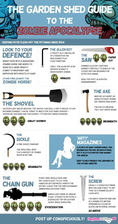 the garden shed guide to the zombie apocalypse