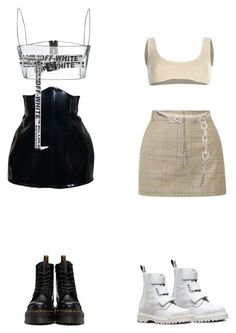 """Unbenannt #25"" by thisissina ❤ liked on Polyvore featuring Yeezy by Kanye West, TIBI, Dr. Martens, Christian Dior and Off-White"