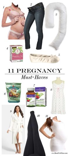 11 Pregnancy Must-Ha