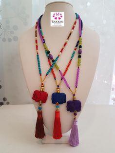 Elephant Necklace #bijoux2018 #bijouxfantaisie #elephants #beaded #etsyshop #bijoux2018 #trendy #bohemian #bohojewelry #takkaibykarina #hippie #summerjewelry #tasselnecklace #handmade #collares #boho #hippienecklace #bloggers #summer #collier Fabric Jewelry, Boho Jewelry, Beaded Jewelry, Jewelery, Jewelry Accessories, Handmade Jewelry, Jewelry Necklaces, Unique Jewelry, Leather Necklace