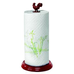 Found it at Wayfair - Rooster Paper Towel Holder in Redhttp://www.wayfair.com/daily-sales/p/Kitchen-Organization-Essentials-Rooster-Paper-Towel-Holder-in-Red~SPM1482~E14167.html?refid=SBP.rBAZEVQVHGk8S2WYtCmwAjOjkDsUcUcsptZvpxJ0rP4
