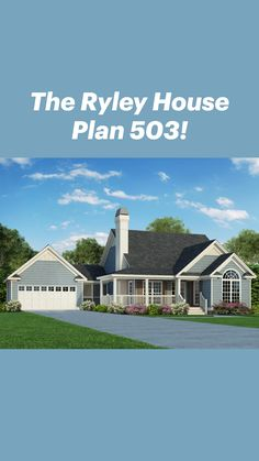 Unique Small House Plans, Small House Design, Cottage House Plans, Country House Plans, Large Homes, House Rooms, Great Rooms, Beautiful Homes, New Homes