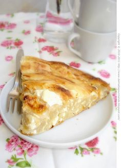 Dalmatia Gourmande: Bosanska sirnica (izgubljeni bakin recept)/Bosnian cottage cheese phyllo pie (grandma's lost recipe)