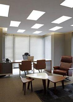 Ergoform Office installation for Proventus Property 2013 - Walnut veneer Plano Executive workstation