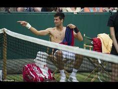 Djokovic and Dimitrov Imitate Sharapova, Redfoo Plays US Open Qualifier - Tennis News Videos