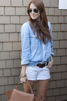 White Cut-Offs that are Summer Perfection