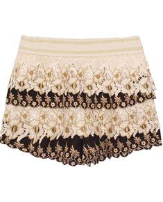 Short crochet flor-Negro EUR18.70