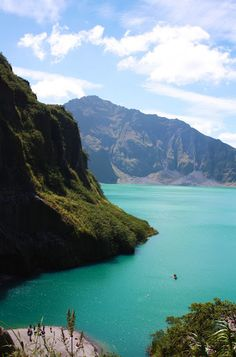 Mt. Pinatubo, Philippines. We are hiking this and then swimming in this crater lake. January can't come fast enough!