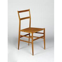 Superleggera; 699 (Chair)  Date: 1957 (designed) 1965 (manufactured)  Place: Milan  Artist/maker: Ponti, Gio