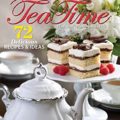 This is a wonderful magazine for tea lovers.  It's full of inspiration, beautiful pictures and I love the recipes!