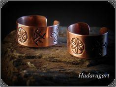 Inele din cupru by hadarugart on DeviantArt Copper Artwork, Cuff Bracelets, Gold Rings, Rings For Men, Artisan, Deviantart, Jewelry, Romani, Twitter