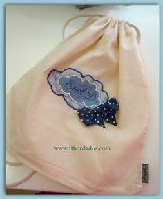 mochilas para que tus niños lleves sus cosas y se sientan mayores. Personalizadas a su gusto o al tuyo!!
