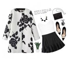 """""""they say that patience is a virtue, i guess it's one i do not have"""" by silvanacavero ❤ liked on Polyvore featuring Topshop, Agave, Miu Miu, Loeffler Randall, Assouline Publishing, women's clothing, women, female, woman and misses"""
