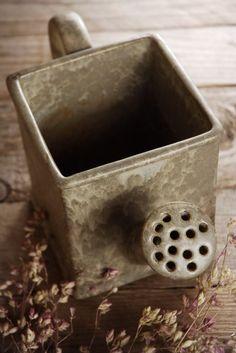 Ceramic Watering Can Planter Vase $14