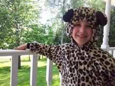Child Size 6/7 Leopard/Cheetah Costume For by rcdboutique on Etsy, $55.00