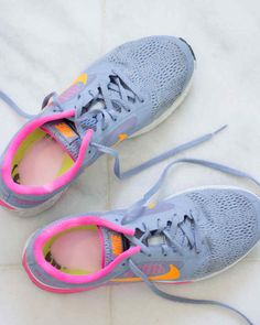 Deodorize Smelly Sneakers | Martha Stewart Living - Simply shake a little ARM & HAMMER™ Baking Soda into sneakers between wearing. It works by absorbing odor-causing moisture while neutralizing existing odors.