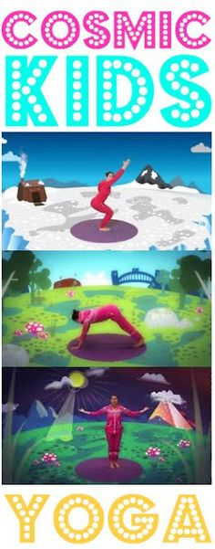 cosmic kids yoga videos. Just found them on YouTube, perfect for winter days at home.