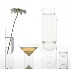 Cocktail accessories: 8 inspirations | 6. Float glassware by Molo Design
