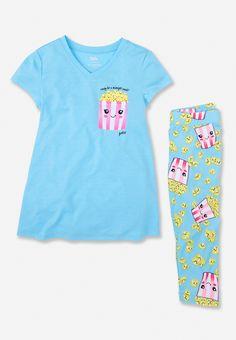 Popcorn in My Pocket Pajama Set