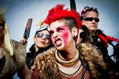 Mad Max fashion is very similar to post apocalyptic