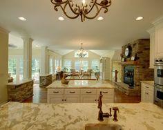 woah, now that's a kitchen!