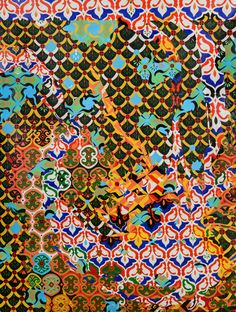 Artist: Sarah Jacobs Title: Ethosphere 4 Medium: Oil on Canvas www.sarahjacobsart.com