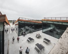 Location: Blåvand, Denmark Gross useable floor space: 2800 sqm Competition: 2012 Completion of work: 2017 Photographs: © Rasmus Hjortshoj/CoastArc
