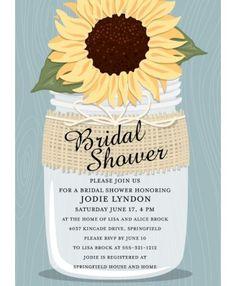Country Charm Bridal Shower Invitation