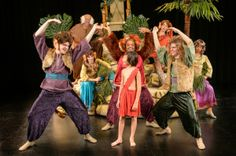 jungle book set design | Photo Flash: First Look at Stages St. Louis' THE JUNGLE BOOK!