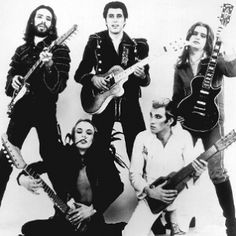 Roxy Music - the start of glam rock, and a band with musicianship and 'style'...