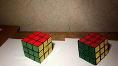 Rysunek Kostki Rubika w 3D
