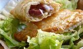 Empanadas à la tomme de Savoie et gésiers confits
