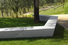 Milenio Bench - Site Furniture - EXP Architects, Escofet/Landscape Forms