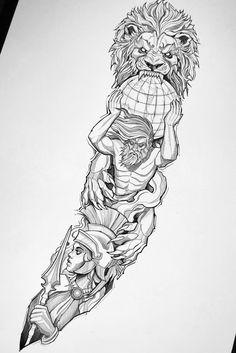 Egyptian Tattoo Sleeve, Arm Sleeve Tattoos, Tattoo Sleeve Designs, Forearm Tattoos, Tattoo Designs Men, Body Art Tattoos, Hand Tattoos, Half Sleeve Tattoos Drawings, Bull Tattoos
