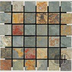 2 x 2 Slate Tumbled Mosaic in California Gold >>> Awesome product. Click the image at  : Baking pans