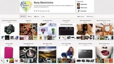 How Sony uses Pinterest to drive traffic